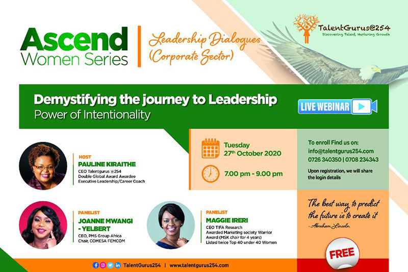 Ascend Women Series Leadership Dialogues - Corporate Sector